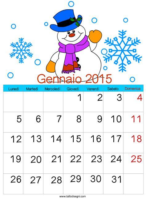 Calendario 2015 Per Whatsapp Calendario 2015 Gennaio Tuttodisegni