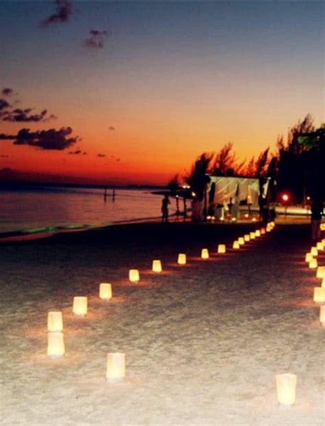 Best 25  Night beach weddings ideas on Pinterest   Beach