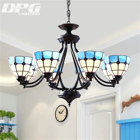 aliexpress buy led style antique l sconces pendant aliexpress buy led style antique l sconces pendant light blue white