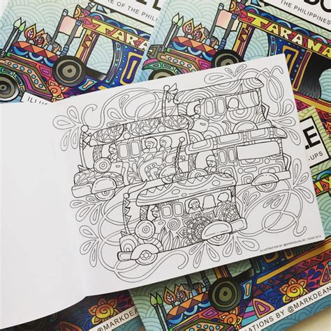 coloring books for adults in the philippines color me doodle philippines edition craft carrot