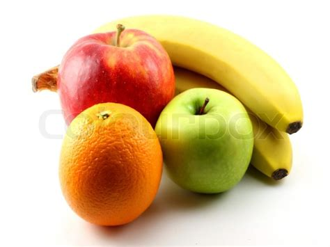 apple and banana apples bananas and orange stock photo colourbox