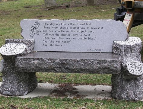 graveside memorial benches 17 best ideas about unusual headstones on pinterest