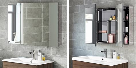 Top 10 Best Bathroom Mirror Cabinets Single Double And Mirrored Bathroom Cabinets Uk