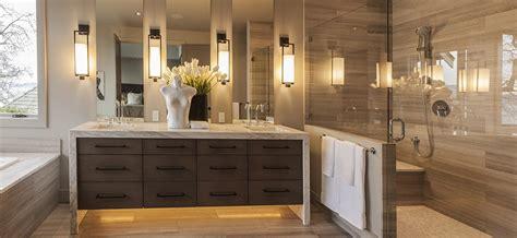 contemporary master bathroom with frameless glass shower