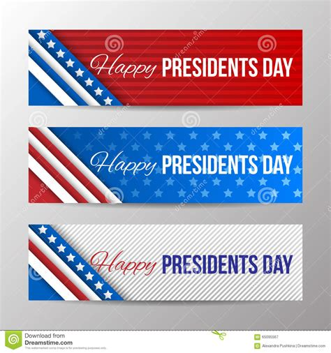 z gallerie presidents day sale set of modern vector horizontal banners page headers with text for presidents day banners with