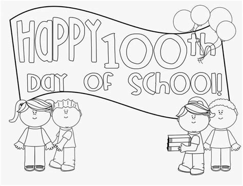 day of school coloring pages free printable 100 days of school coloring pages