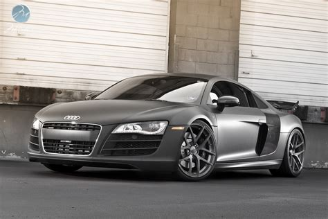 Audi R8 Black Matte by Matte Black Audi R8 V10 Speeddistrict