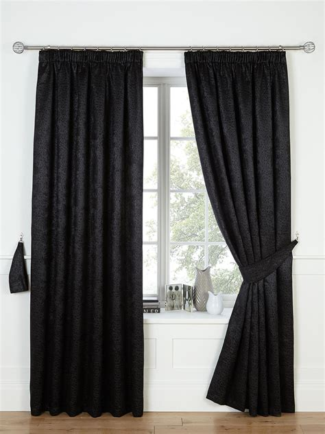 black and charcoal curtains cranley 3 inch blackout curtains charcoal gold black