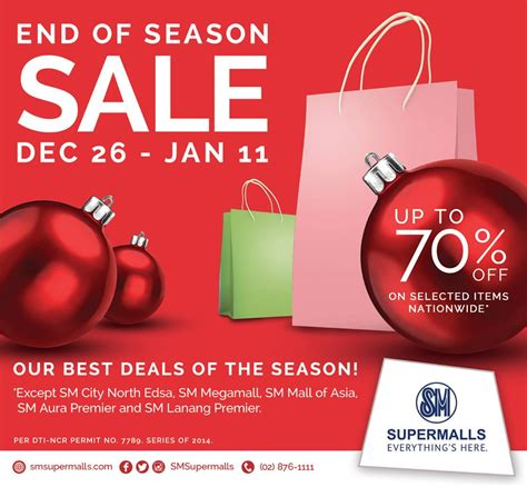 Sale Season Is Starting by Sm Supermalls End Of Season Sale Don T Pay Price