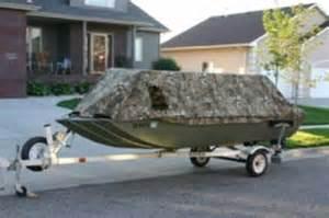 Boat Duck Blinds 2000 Crestliner Mod V Jon Boat 1648