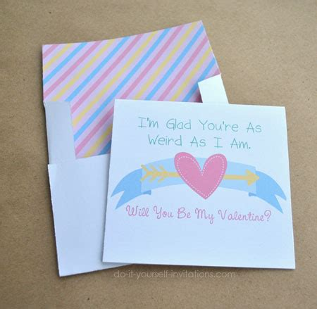 do it yourself cards templates printable valentines day cards