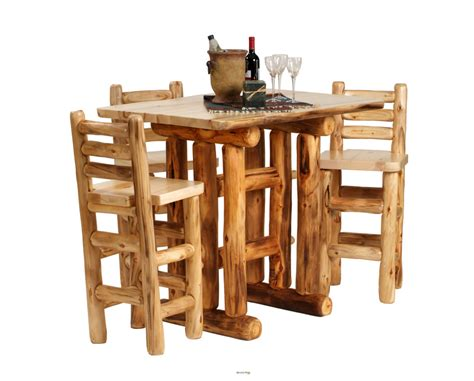 Handcrafted Log Furniture - handcrafted rustic aspen log furniture and pine log