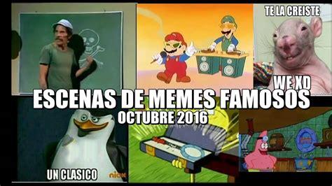 octubre fallecidos artistas 2016 escenas de memes famosos momos de octubre 2016 youtube
