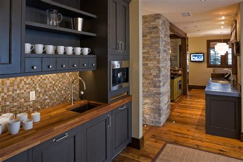 Kitchen Paint Colors With Wood Cabinets 28 excellent coffee bar furniture and table ideas wisma home