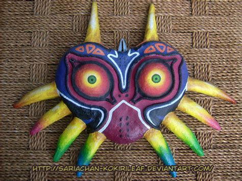 How To Make A Paper Mache Mask - majora s mask paper mache ver giftart by majorasmasks