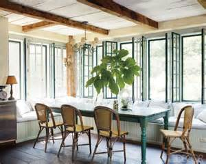 hgtv french country dining room banquette