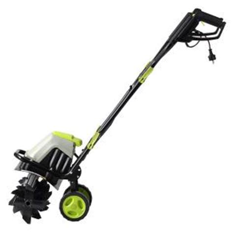 lawnmaster 16 in 10 corded electric cultivator tiller