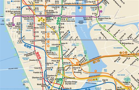 subway map new york new york city subway map go nyc tourism guide