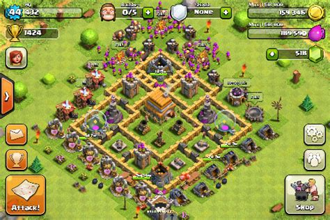 coc map layout th6 best th 6 layout joy studio design gallery best design