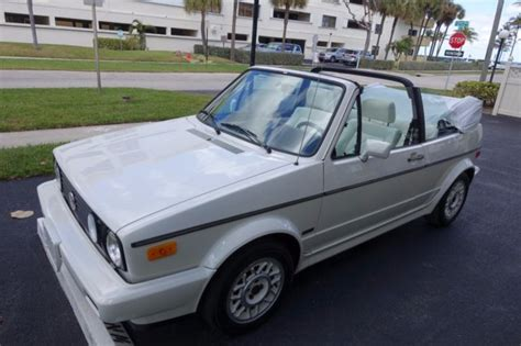 1988 vw cabriolet karmann edition for sale volkswagen cabrio karmann 1988 for sale in pompano
