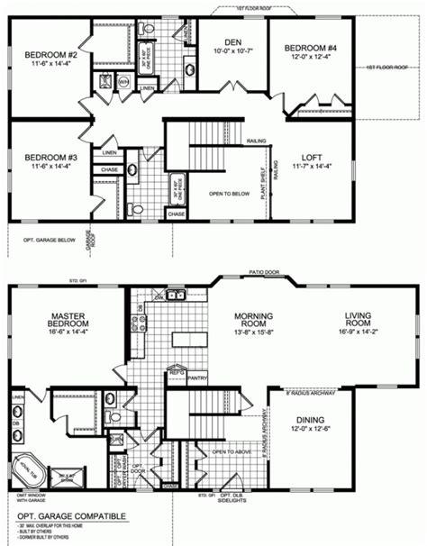 5 bedroom modular homes floor plans 5 bedroom modular home floor plans