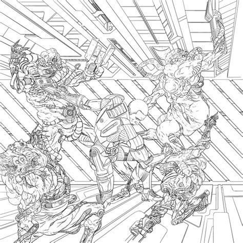 coloring book effect free mass effect coloring book tpb profile