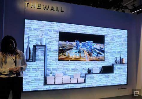 samsungs massive    microled tv