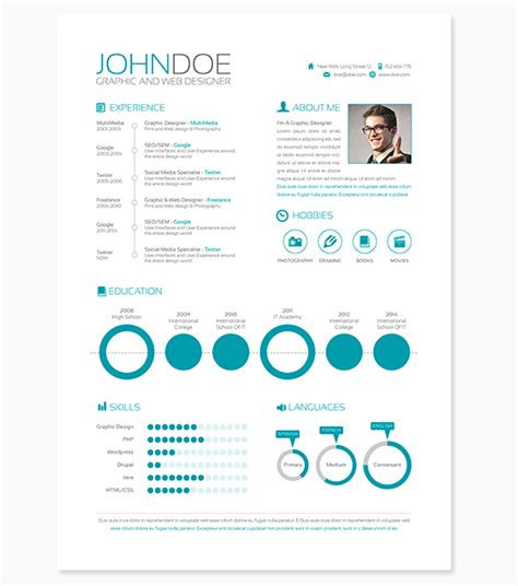 Modern Resumes 2017 2018 Best Cars Reviews Modern Resume Template 2017
