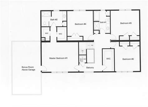 1500 Sq Ft House Floor Plans by 4 Bedroom Floor Plans Monmouth County Ocean County New
