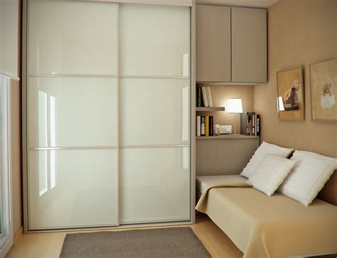 wardrobe designs for small bedroom ceremonious small guest room decors with white gloss