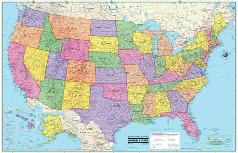 free usa wall map search results for large blank united states map