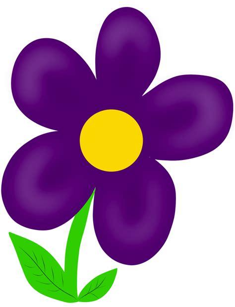 flower clipart summer purple clipart clipground