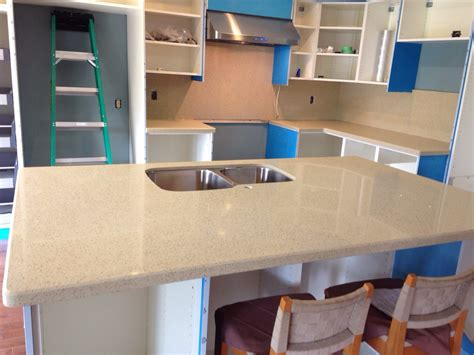quartz countertop installed in scarborough kitchen