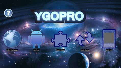 ygopro for android アンドロイド android版ads ygopro 導入方法解説 ypgg