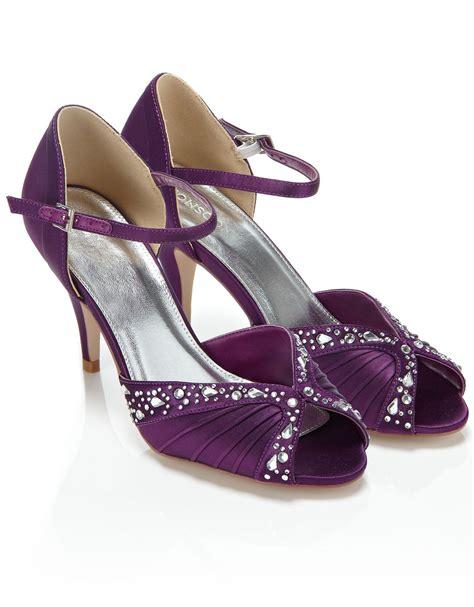Wedding Shoes Low Heel by Purple Wedding Shoes Low Heel Www Pixshark Images