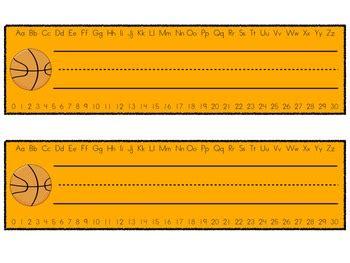 printable desk tags with number line desk name plates desk name tags with alphabet and number