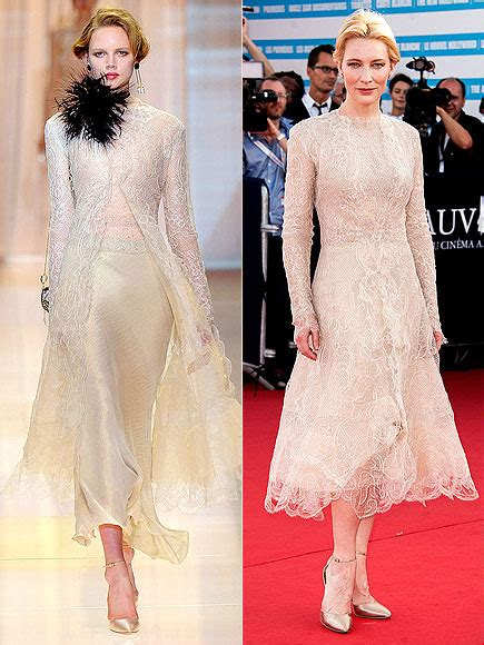 Catwalk To Carpet Cate Blanchett by Cate Blanchett Photos
