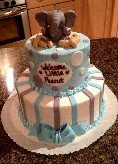 elephant baby shower cake ideas  pinterest baby elephant cake babyshower cakes