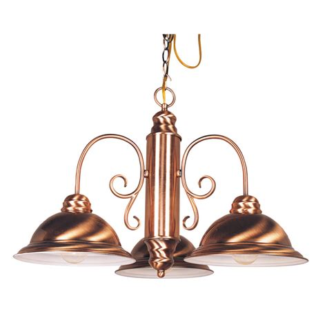 Copper Chandelier Enlarged Image