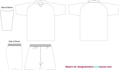 Soccer Jersey Template soccer jerseys templates coloring pages