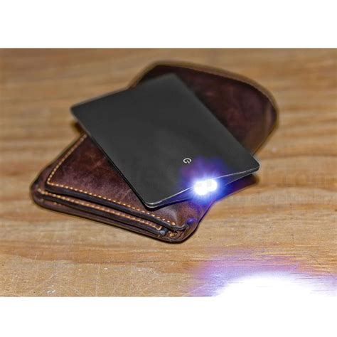 Sinclair Credit Card Size Led Flashlight Senter Kartu Mini Tipis jual sinclair credit card size mini led flashlight