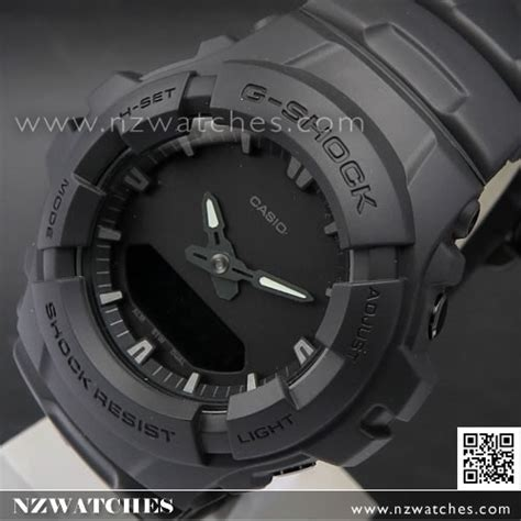G Shock Digital Black Huruf buy casio g shock matte black analog digital 200m sport