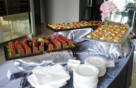 finger food buffet in kl the perfect match catering services