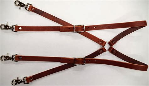 heavy duty leather suspenders leather belts usa