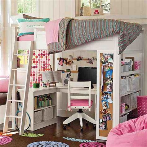 amazing bunk beds the amazing of loft beds for girls ideas for saving space