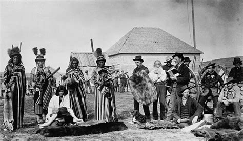 Big Picture Post Nation 3 by Mistahimaskwa Big 4th From Left A Plains Cree Ch