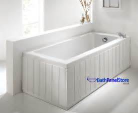 1800mm Shower Bath high gloss white extra height bath panels