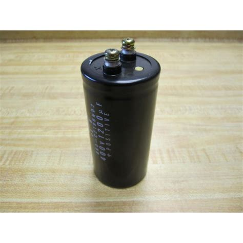 nippon chemicon capacitor date code nippon chemi con bko c2196h02 capacitor 400v 1200 muf bk0 used mara industrial