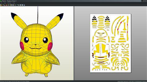 Papercraft Pikachu - the gallery for gt papercraft pikachu