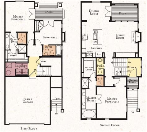 2 storey modern house designs and floor plans vintage